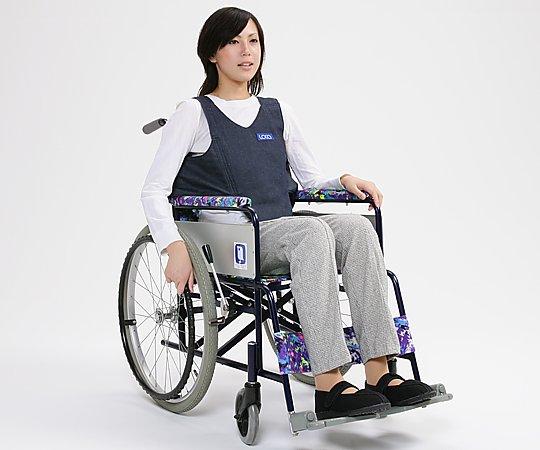 【送料無料】車椅子用ベルト (綿100%(デニム)) 0-2446-32 ※ベルトのみの販売です