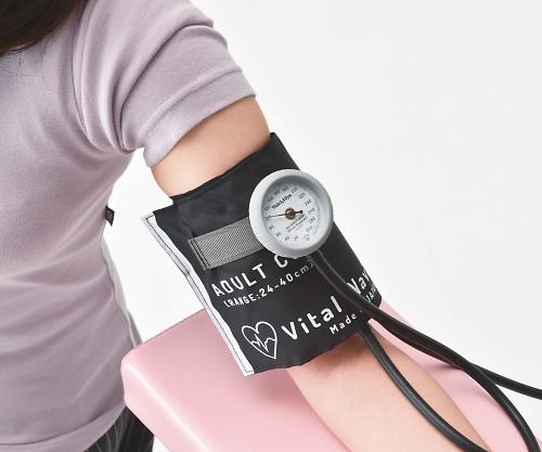 【送料無料】ナビス バイタルナビ血圧計(ラテックスフリー) LF成人用 グレー 8-7093-02