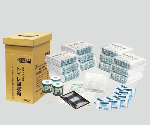 【送料無料】ナビス 災害用緊急トイレセット 1セット 7-1104-01