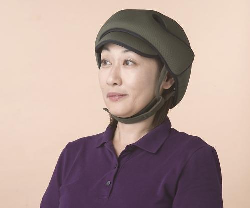 【送料無料】特殊衣料 保護帽(アボネットガードC) 普通サイズ オリーブ 8-6511-01