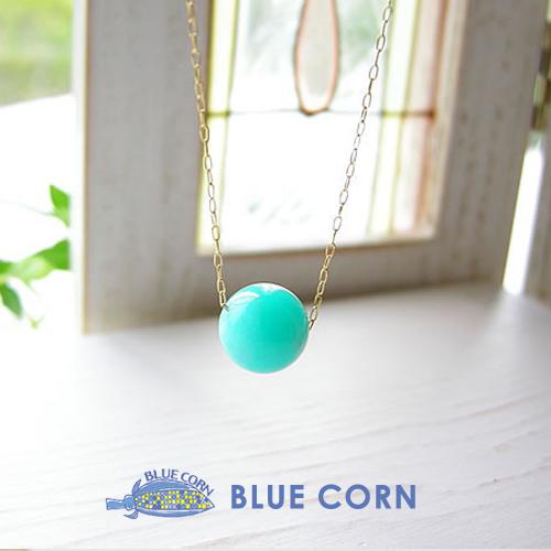 人気の高品質(5A)なアマゾナイトのネックレスです!鮮やかなブルーのアマゾナイトをお楽しみください パワーストーン 14金ゴールドフィールドチェーン使用! 高品質 アマゾナイト ネックレス パワ-スト-ン 天然石