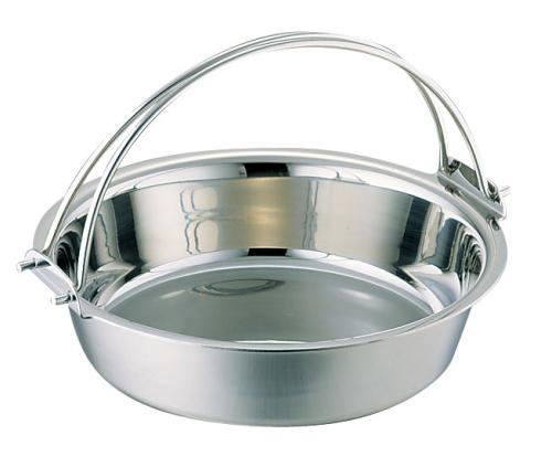 SW 電磁用ツル付チリ鍋 29cm (QTL27029)
