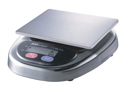A&D防水デジタルはかり HL-3000LWP (BHK7401)