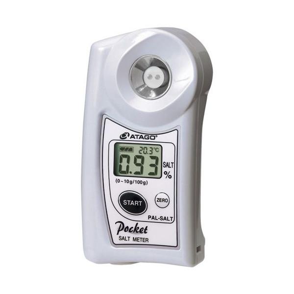 アタゴ デジタルポケット塩分計 PAL-SALT (0.0~10.0%)