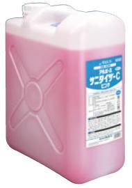 食品工業用 除菌洗浄剤 サニタイザーC アルボース 20kg (ピンク)