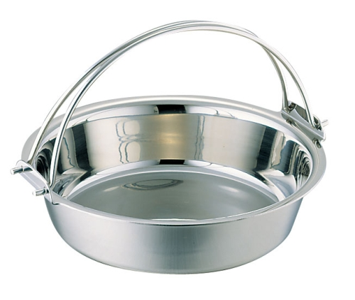 SW 電磁用ツル付チリ鍋 33cm (QTL27033)