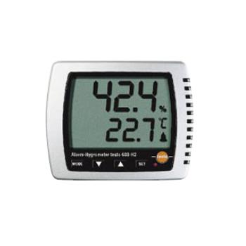 卓上式温湿度計(アラーム付) Testo608-H2