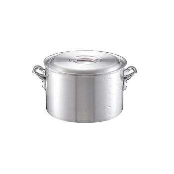 半寸胴鍋 キング 目盛付 アルミ 60cm