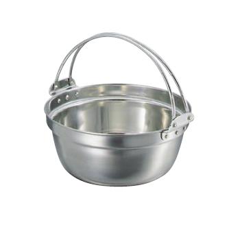 料理鍋 吊付 18-8(ステンレス) SW 51cm