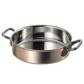 外輪鍋 ステン / 銅 マトファー / ブウジャ 3740-24cm