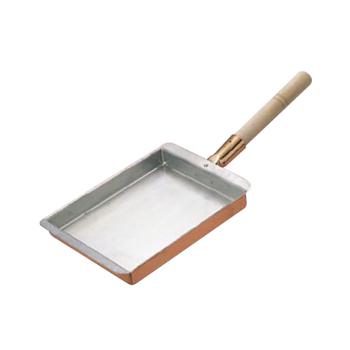 (エッグパン)玉子焼 関西型 銅製 30cm