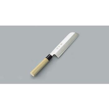 薄刃庖丁 鎌型 兼松作 19.5cm