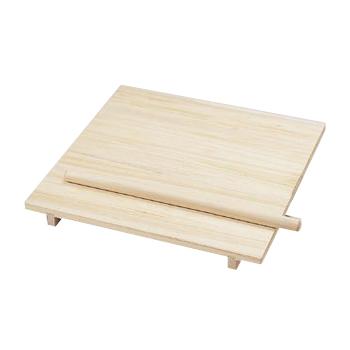 のし板 (棒付) 中 桐製 (85295) 800×700×H80mm