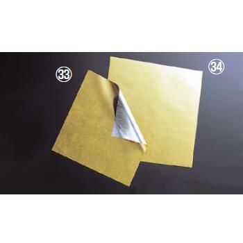金箔調懐紙 M30-596 24角(500枚入)