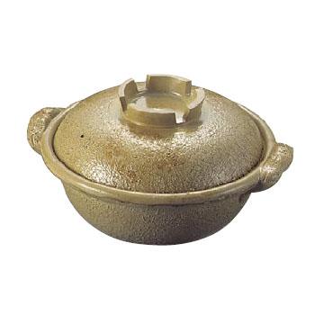 土鍋 電磁調理器用 アルミ 幸楽色 24cm