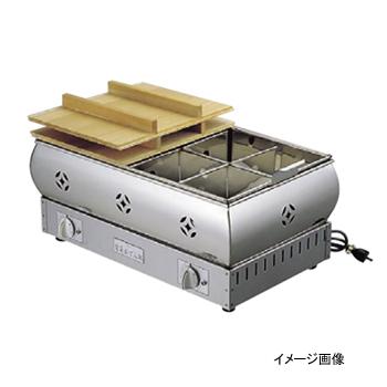 おでん鍋 電気式 18-8(ステンレス) 尺5 (45cm)