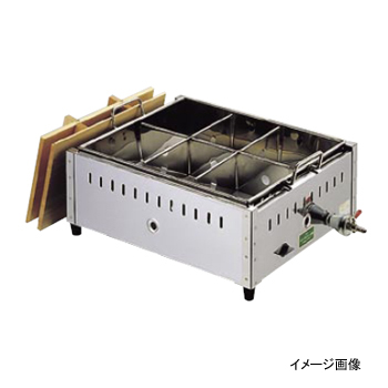 関東煮 (おでん鍋) 13A (都市ガス) 18-8(ステンレス) 尺2(36cm)