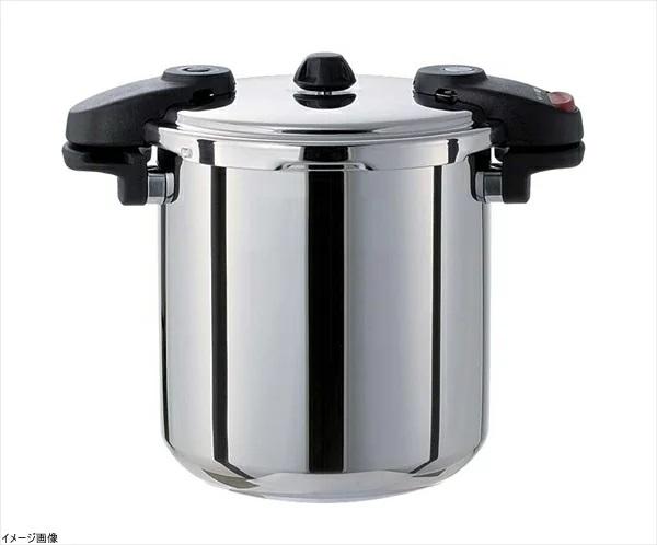 ワンダーシェフ 圧力鍋(両手) 10L 全面三層構造 610232