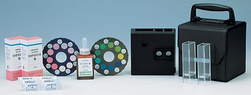 DPD法残留塩素測定器エンパテスターSW (pH測定器付) (BZV1301)