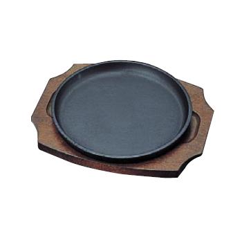 ステーキ皿 304 丸型 鉄製 受注生産品 直営店 トキワ 22cm