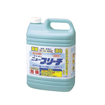 ニュー ブリーチ 新作 人気 新発売 塩素系 ライオン 5kg 除菌漂白剤