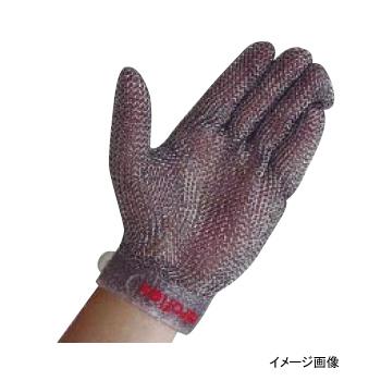 メッシュ手袋シリコンベルト付 左手用 L ニロフレックス