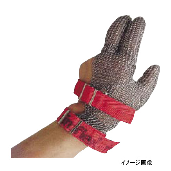 メッシュ手袋 SS ニロフレックス 3本指