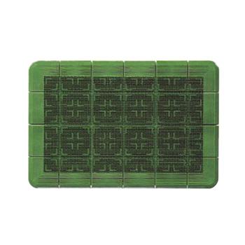 玄関マット #12 クロスハードマット 緑 900×1200