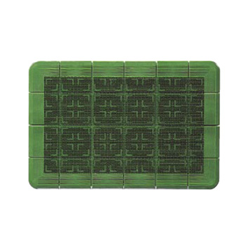 玄関マット #18 クロスハードマット 緑 900×1800