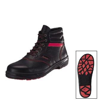 安全靴 TF22-R トリフタン 黒 / 赤 シモン 25.5cm
