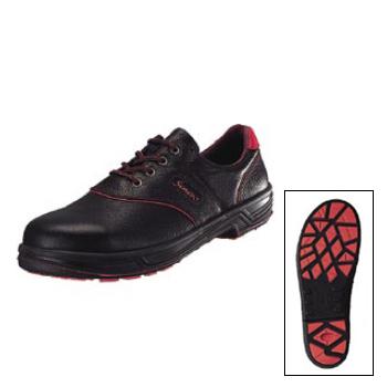 安全靴 SL11-R トリフタン 黒 / 赤 シモン 23.5cm
