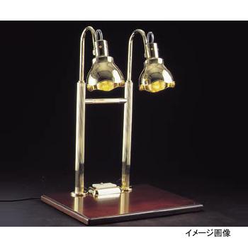 ヒートランプ 2灯式 銀メッキクリアライト仕上 H