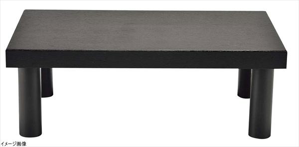 木製 システム ディスプレイスタンド ハイタイプ ダークブラウン