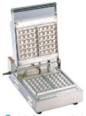 ベルジャンワッフルベーカー SBW-100角型 (FWT03)