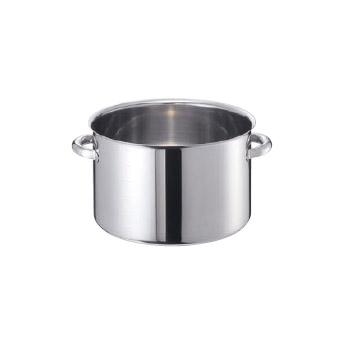 半寸胴鍋 蓋無 モリブデンジ2 (目盛付) 42cm