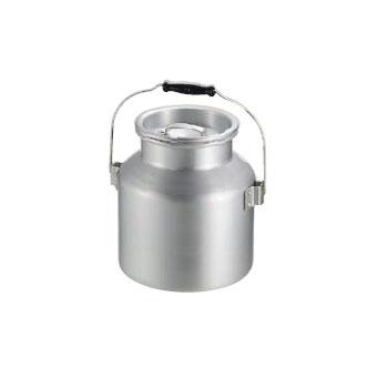 スープ運搬缶 アルミ 大 (φ270×H290) 13L (リットル)
