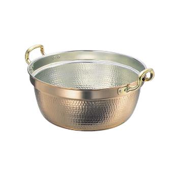 料理鍋 両手 銅製 SW 42cm