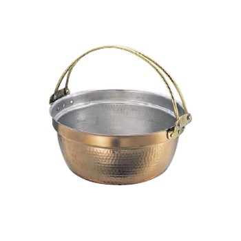 料理鍋 吊付 銅製 SW 33cm