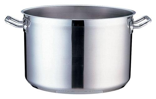 TKG PRO(プロ)半寸胴鍋(蓋無) 40cm (AHV6440)