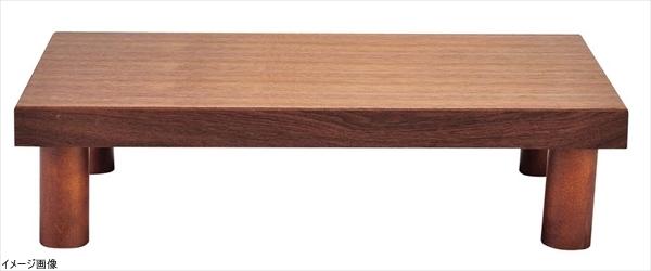 木製 システム ディスプレイスタンド ロータイプ ブラウン
