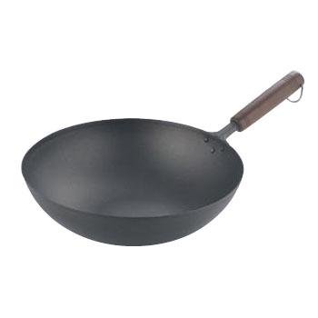 木柄 いため鍋 純チタン 28cm