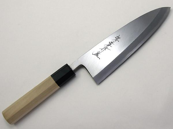 堺孝行 シェフ和庖丁 銀三鋼 出刃 19.5cm (ASE04038)