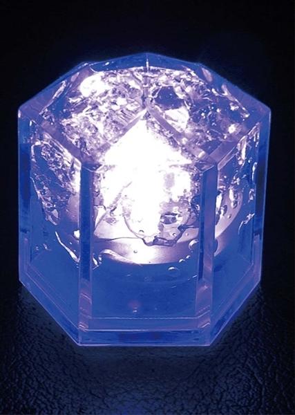光る氷 ライトキューブ・クリスタル(24入)ブルー