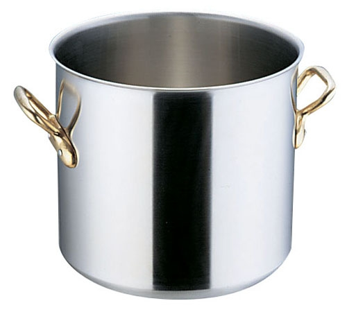 SAスーパーデンジ 寸胴鍋(蓋無) 27cm (AZV21027)