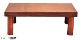 木製 システム ディスプレイスタンド ハイタイプ ブラウン