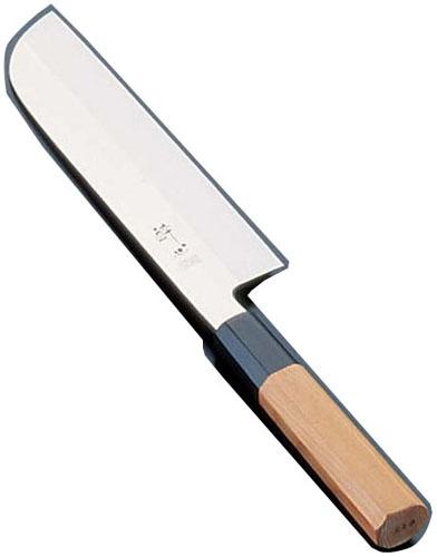 酔心 イノックス本焼和庖丁 鎌型薄刃 21cm 45055 (ASI5501)