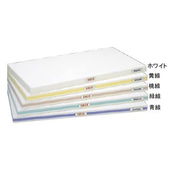 まな板 抗菌 かるがる SDK ホワイト / 緑線 600×300×25