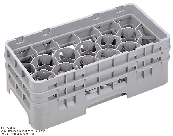 Cambro Camrack 17コンパートメント10-1-/ 8-ガラスラック、クランベリー( 17hs958416-)カテゴリ:食器洗い用ラック