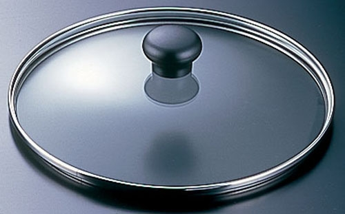 商品コード 4-0078-0306 強化ガラス蓋 AFT016 HO-1065 高い素材 新発売 24cm