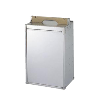 出前箱 アルミ ランチ用 2段 2ヶ入